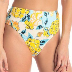 The Bikini Lab Swim Bottom High Waist NWOT Large
